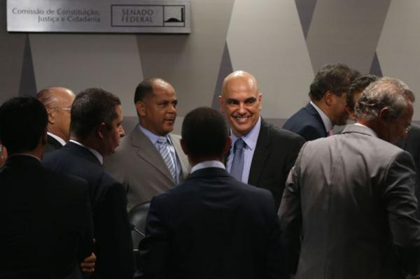 CCJ do Senado aprova a indicação de Alexandre de Moraes para o Supremo