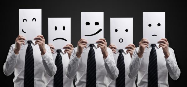 As 5 principais emoções
