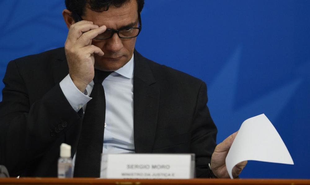 Sergio Moro confirma saída do Ministério da Justiça