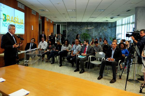Governo de Brasília anuncia medidas para adotar o Bilhete Único em até 180 dias